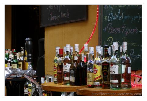 botellas-bares-la-latina