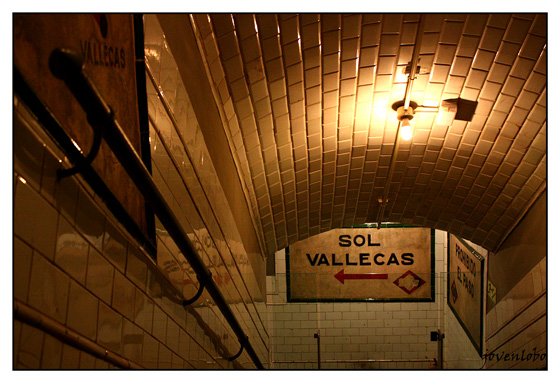 Escaleras-Metro-Chamberi