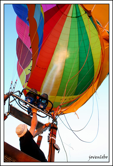 hinchar-globo-aerostatico